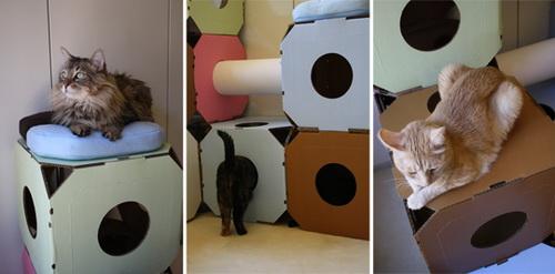 Как сделать своими руками лежаки для кошек 63